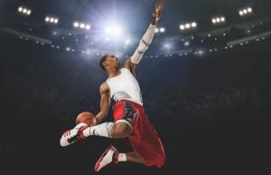 Игрок_Баскетбол_Мяч_Зависание
