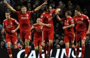 футбол_дождь_джерард_Liverpool