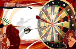 darts-mishen-drotik-siluet