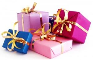 подарки-много