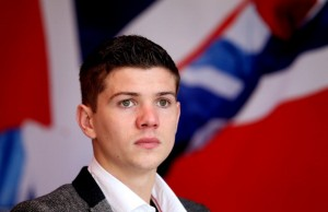LONDON, ENGLAND - APRIL 23:  Olympic Gold medallist Luke Campbell attends a press conference to announce he will go professional by signing to Matchroom on April 23, 2013 in London, England.  (Photo by Scott Heavey/Getty Images)