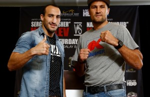 "Unified Light Heavyweight World Championship Press Conference  Sergey ""Krusher"" Kovalev and Nadjib ""Iron Jib"" Mohammedi, along with their camps,  formally announce their fight for the WBO, WBA and IBF Light Heavyweight World Championships on Saturday, Jul"