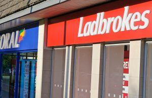 Coral and Ladbrokes betting shops